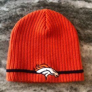 Denver Broncos knit skully hat